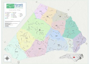Fuquay Varina Zip Code Map.Boundaries Map Gallery Harnett County Gis